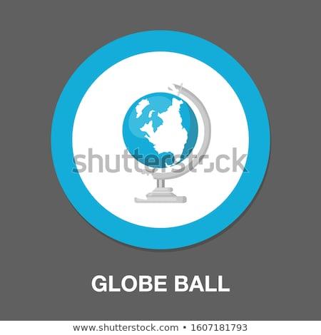 vetor · terra · globo · ilustração · isolado · branco - foto stock © Mr_Vector
