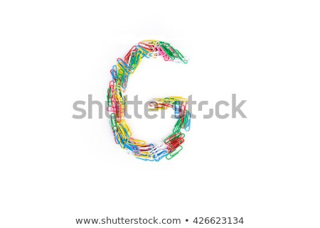 Mektup i yalıtılmış beyaz iş kâğıt Stok fotoğraf © gemenacom