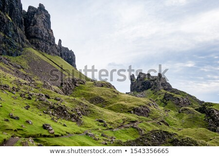 The Trotternish Ridge, Isle of Skye  Stock photo © elxeneize