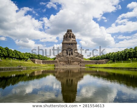 Leipzig Monument to the Battle of the Nations  Stock photo © LianeM