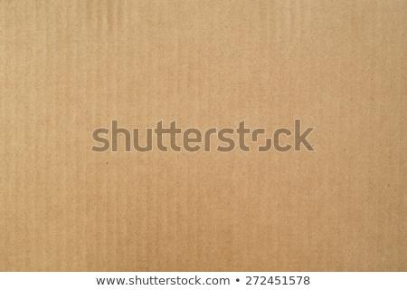 corrugated cardboard texture background Stock photo © zkruger