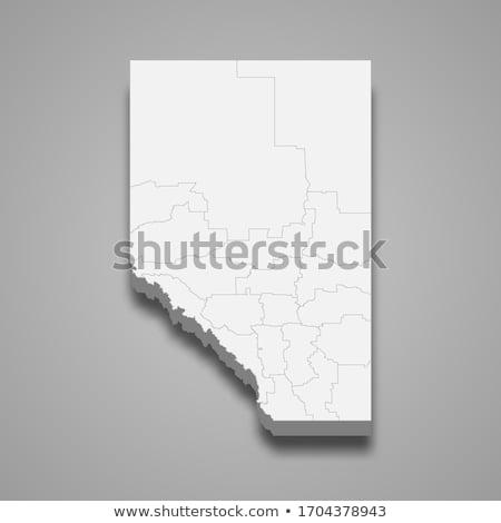 Harita arka plan hat mor vektör Kanada Stok fotoğraf © rbiedermann