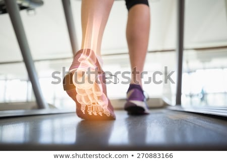 Láb nő futópad digitális kompozit sport fitnessz Stock fotó © wavebreak_media