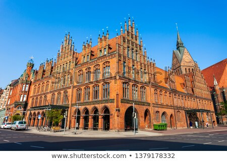 Old Town Hall (Altes Rathaus) in Hannover, Germany Stock photo © vladacanon