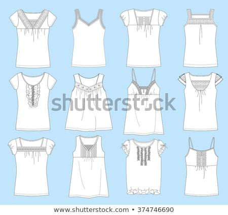 Lady in camisole Stock photo © Novic