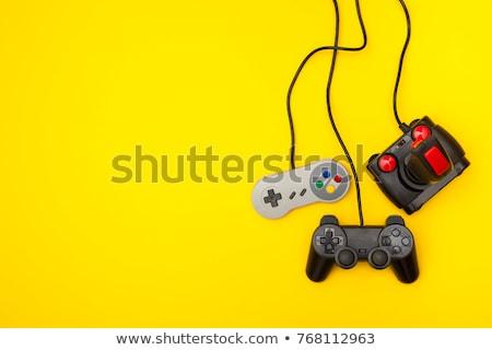 Rétro console de jeux jeu pièce consoler Photo stock © sifis