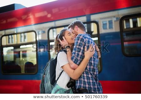 tren · tekerlekler · yeni · makine · stok - stok fotoğraf © konradbak