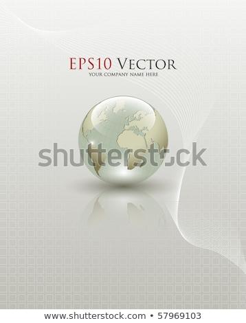 anlaşma · harita · dünya · çapında · uluslararası · anlaşma - stok fotoğraf © alphaspirit