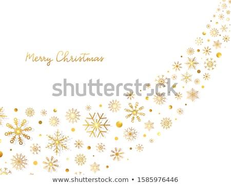 Noel · tatil · manzara · örnek · karikatür · kırmızı - stok fotoğraf © carodi