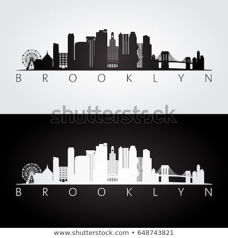 Downtown Brooklyn skyline Stock photo © ssuaphoto
