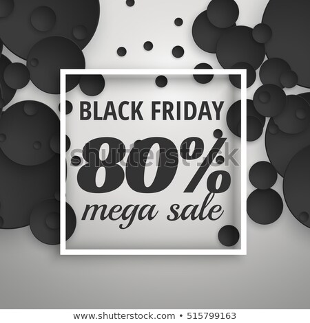 Photo stock: Incroyable · black · friday · vente · affiche · bannière · sombre