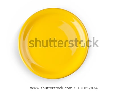 Yellow saucer Stock photo © Digifoodstock