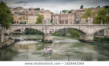 Bridge near the Castel Sant'Angelo. Stock photo © Pilgrimego