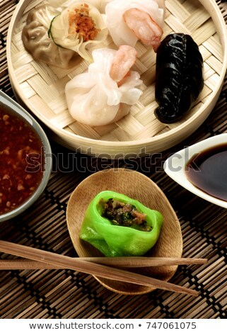 Vegetarian Yasai Dim Sum Stock photo © zhekos