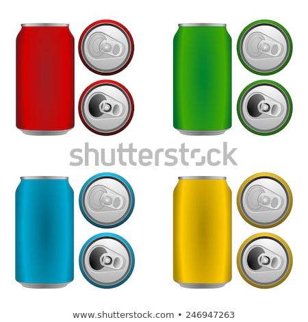 красный · Cola · группа · цвета · объекты · соды - Сток-фото © creisinger