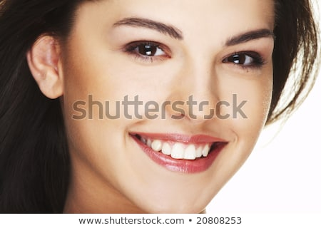 young girl smiling at viewer stock photo © is2