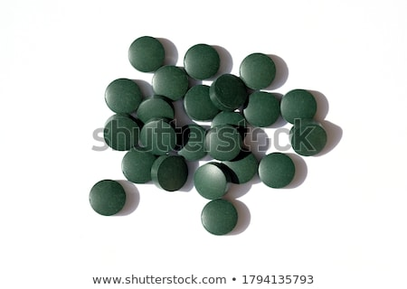 fermented spirulina tablets  Stock photo © wollertz