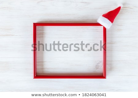 Picture framing flat lay Stock photo © fotogal