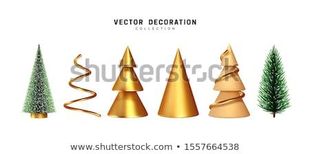 tebrik · Noel · kart · modern · geometrik - stok fotoğraf © popaukropa