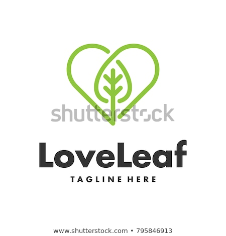 Tree Heart Icon Concept Stock photo © Krisdog