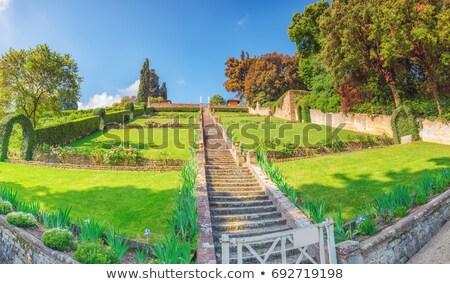 Флоренция Италия мнение город зеленый путешествия Сток-фото © boggy