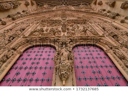 koro · yeni · katedral · İspanya · inşaat · kilise - stok fotoğraf © benkrut