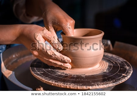 hands of a potter Stock photo © m_pavlov