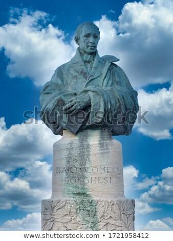 Bartolomeo Borghesi monument in San Marino Stock photo © boggy