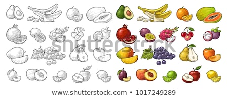 лимона · Jam · продовольствие · фрукты · фон · кухне - Сток-фото © conceptcafe