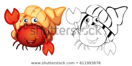 Animal rabisco natureza fundo arte Foto stock © colematt