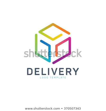 Delivery or Logistic Company Identity. Delivery Logo Template. Stock photo © tashatuvango