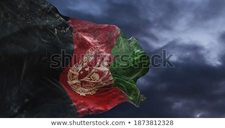 Grunge bayrak Afganistan vektör Stok fotoğraf © nazlisart