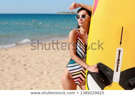 Califórnia · ferido · praia · fundo · verão · oceano - foto stock © elenabatkova