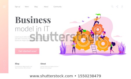 Career Building and Business Growth Web Pages Stock photo © robuart