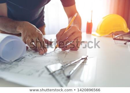 Engineer workplace Stock photo © pressmaster