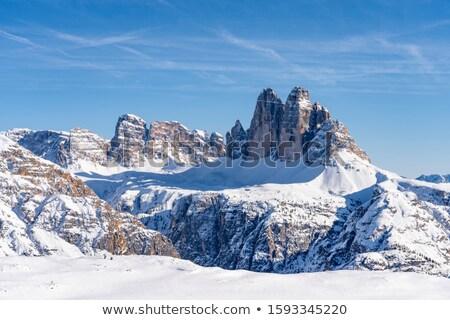 Sexten Dolomites mountains Stock photo © frimufilms