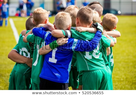 A baseball team of children play this sport Stock photo © Lopolo