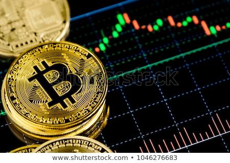 Bitcoin valor ativo bem troca negócio Foto stock © lightpoet