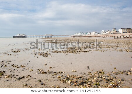 Low tide, Worthing Stock photo © jsnover