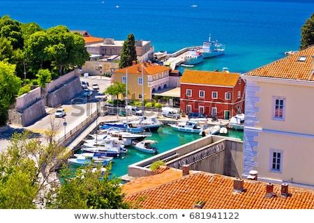 Parede Croácia rainha parque natureza verão Foto stock © borisb17