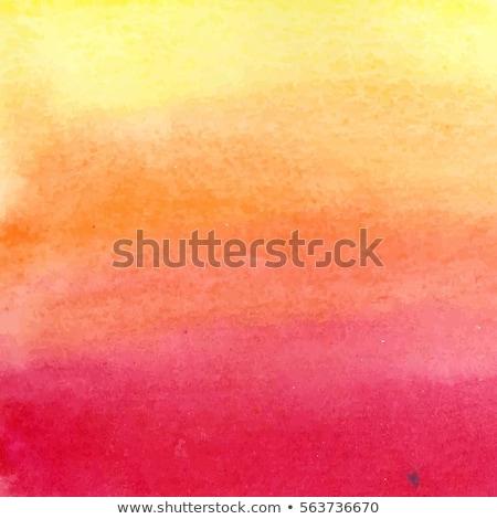 Orange background with dash line frame Stock photo © bluering