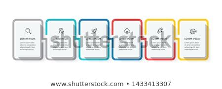 аннотация бизнеса квадратный шаблон опции Сток-фото © ukasz_hampel