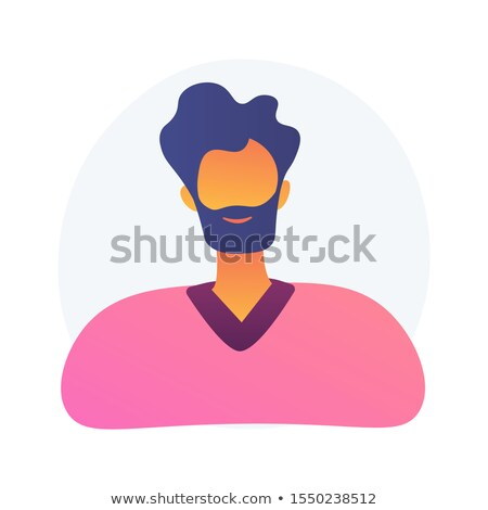 Company employee ID photo vector concept metaphor Stock photo © RAStudio