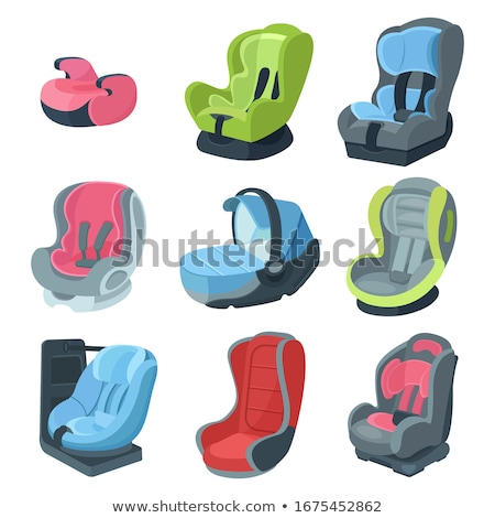 Child Seat Chair isometric icon vector illustration Stock photo © pikepicture