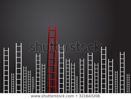 irányítás · problémák · út · aszfalt · út · autópálya - stock fotó © 4designersart