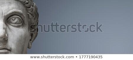 Nobil om portret bustul gol Imagine de stoc © curaphotography