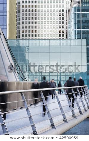 negócio · centro · corredor · moderno · aeroporto · bokeh - foto stock © photocreo