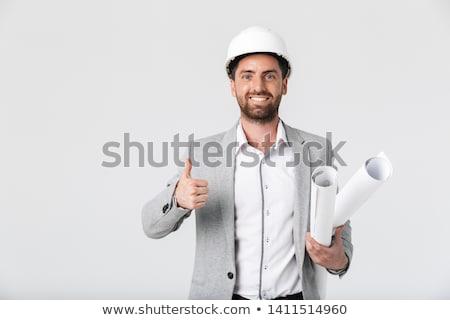 улыбаясь · архитектора · фотография · молодые - Сток-фото © maridav