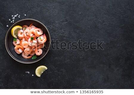 trucha · limón · cocido · buque · de · vapor · alimentos · saludables · aislado - foto stock © antonio-s
