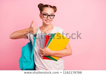 Cute женщины студент портрет привлекательный азиатских Сток-фото © williv